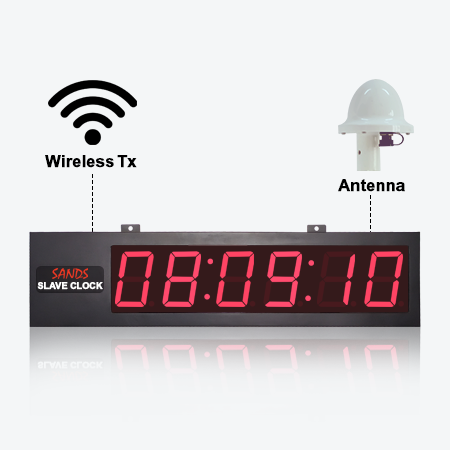 Wireless Slave Clock 01