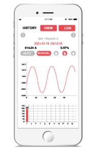 SANDS Clamp Meter - History Mode